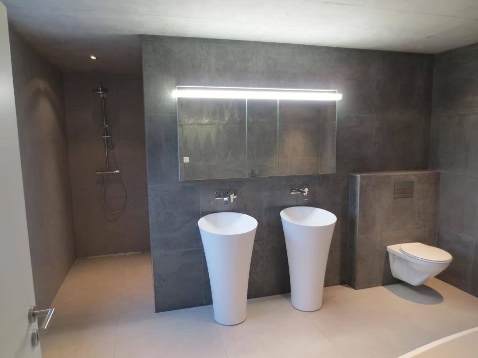 Impressionen Referenzen Sanitar Sanitararbeiten Wirthlin